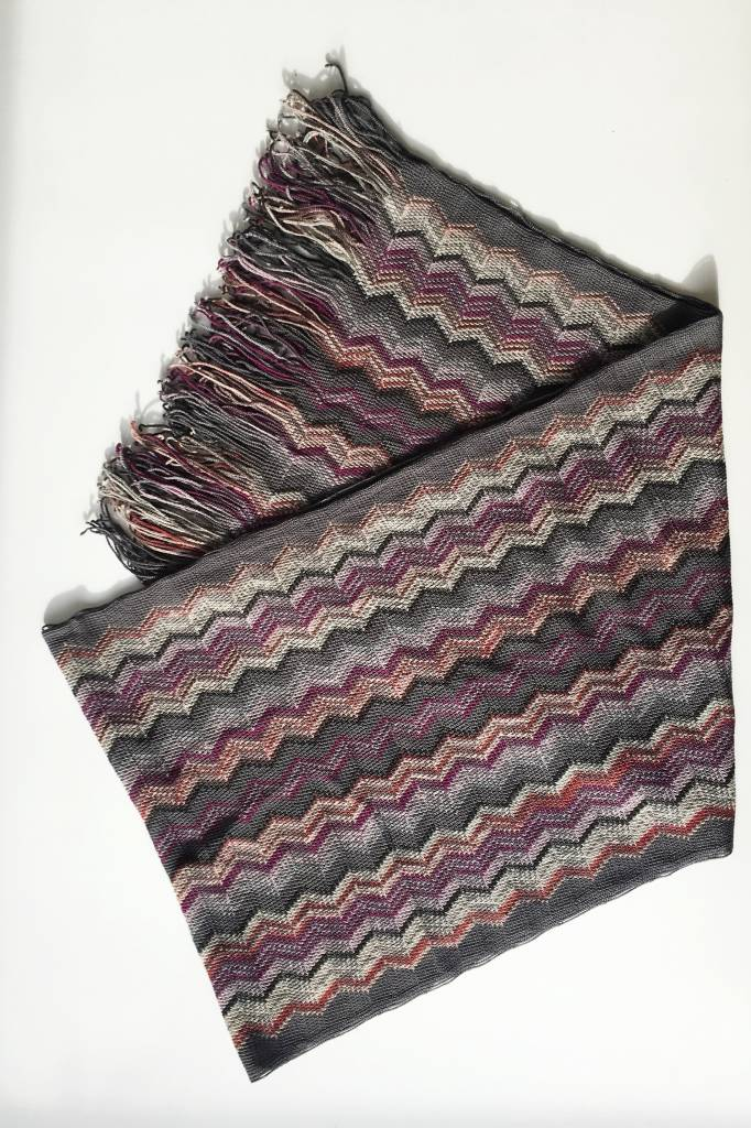 Missoni Foulard en laine à chevrons