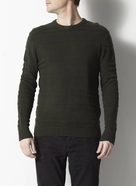 Peter Werth PULL VERT STYLE TRICOT