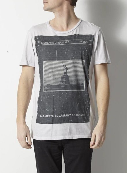 AllSaints T-SHIRT GRIS THE DREAMS DREAM