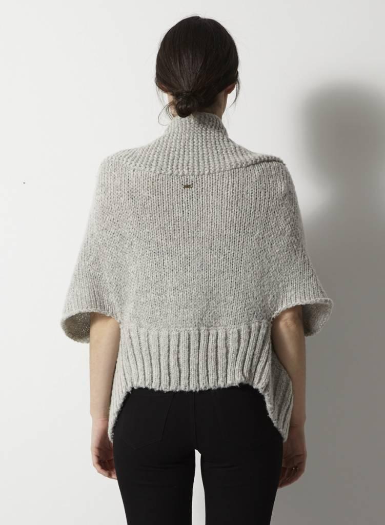 G-Star Veste ample gris pâle en laine
