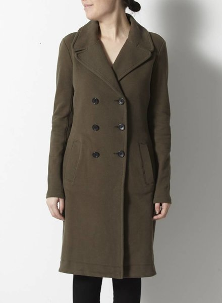 James Perse VESTE-MANTEAU CONFORT KAKI