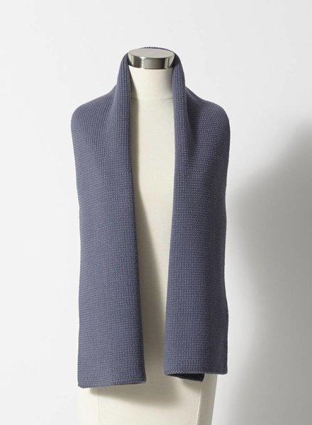Louis Vuitton FOULARD EN LAINE MÉRINOS BLEU-GRIS