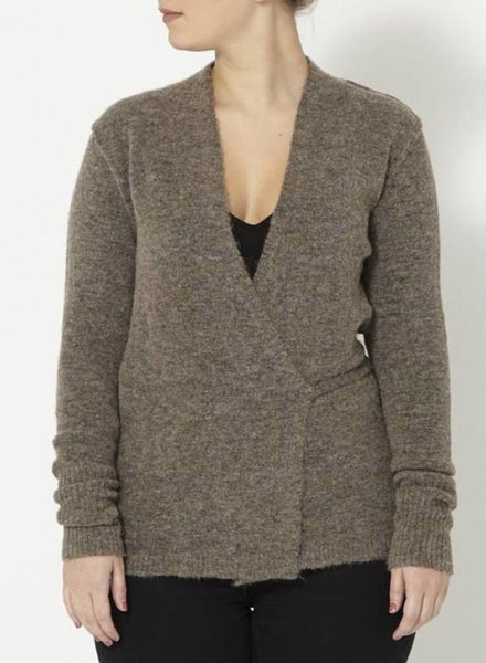 Wilfred Free HAUT CACHE-COEUR MARRON-GRIS