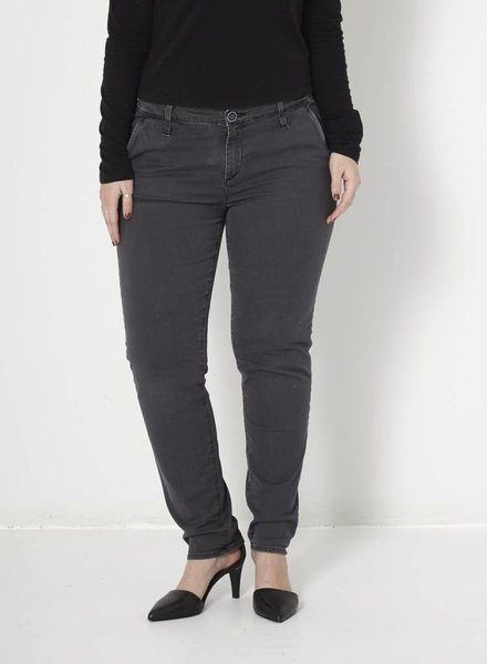 Adriano Goldschmied JEANS GRIS JAMBE ÉTROITE