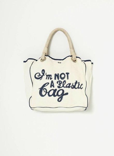 "Anya Hindmarch SAC FOURRE-TOUT ""I'M NOT A PLASTIC BAG"""