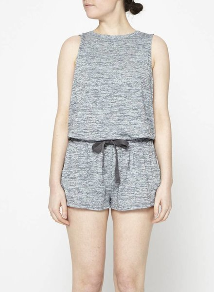 Wilfred Free COMBI-SHORT GRIS CHINÉ