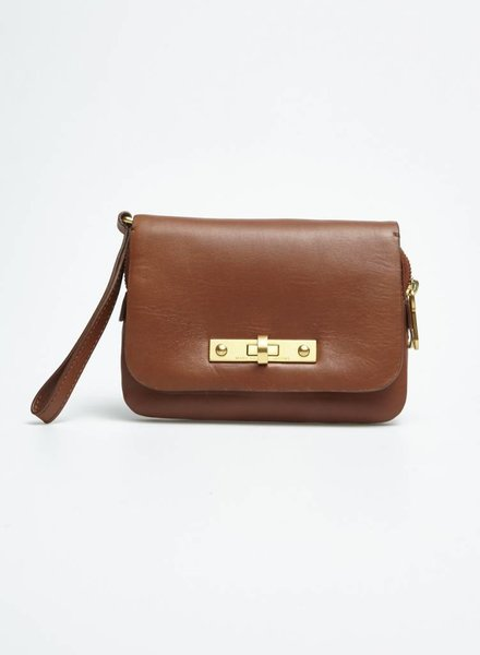 Marc by Marc Jacobs PETIT SAC À MAIN EN CUIR MARRON