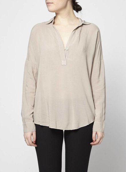Splendid BLOUSE TAUPE AMPLE