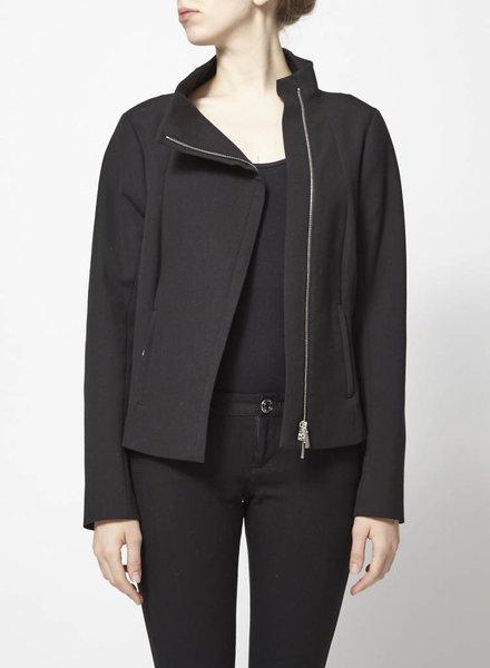 Blacky Dress MANTEAU-VESTON NOIR STRUCTURÉ