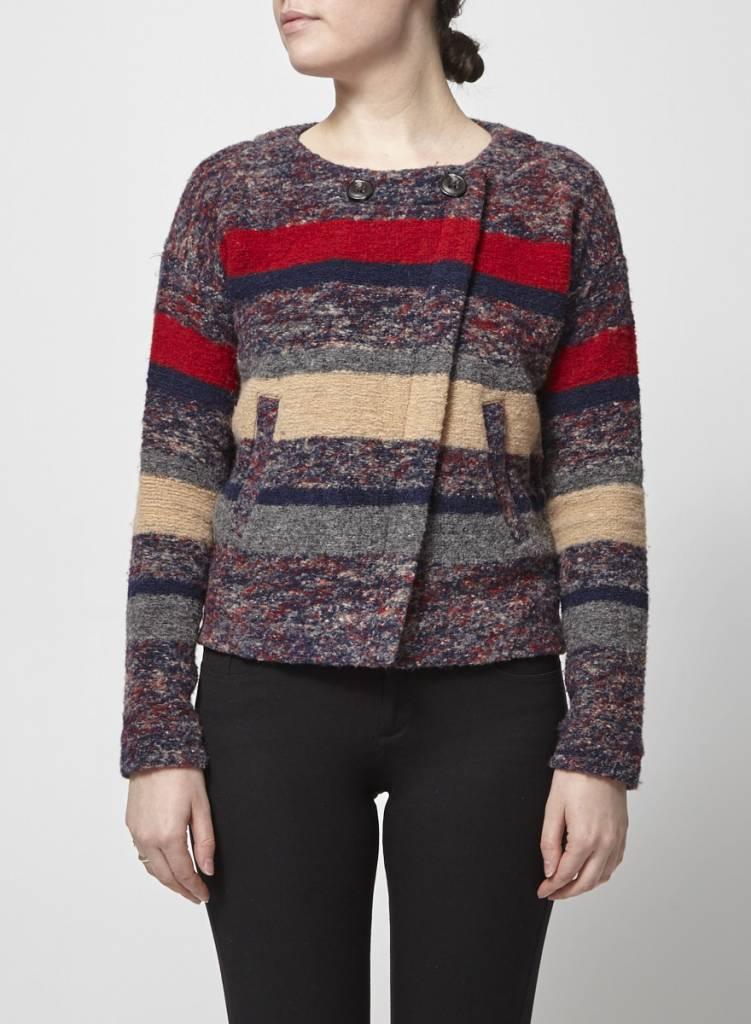 Madewell Veste-manteau multicolore avec laine