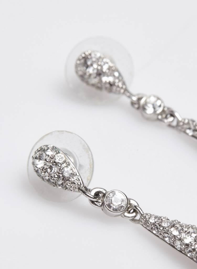 Agatha Boucle d'oreille pendantes avec cristaux