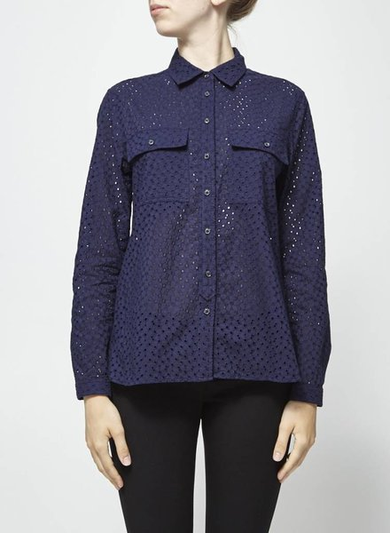 Banana Republic CHEMISE MARINE À PERFORATIONS BRODÉES