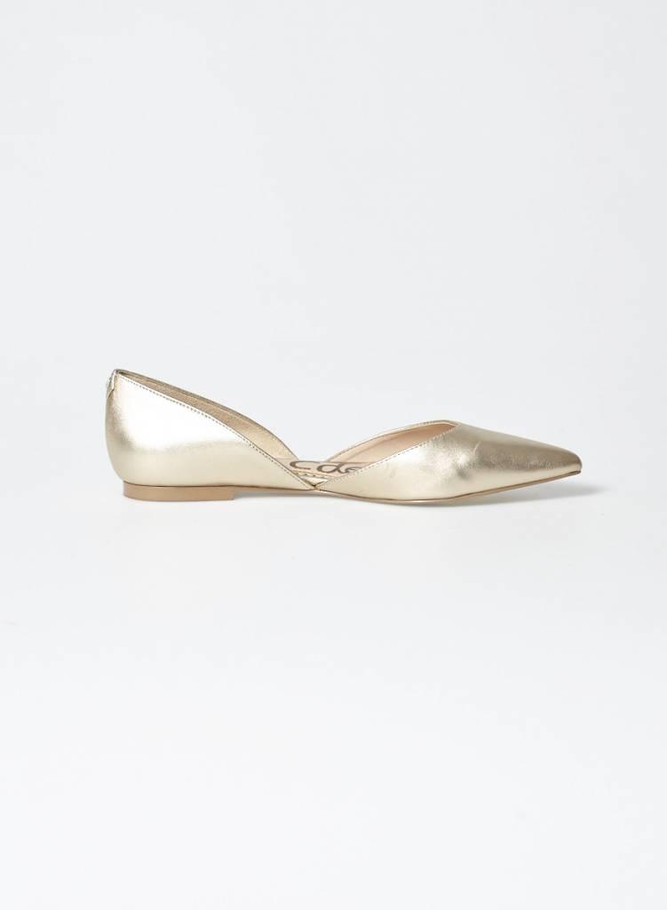 Sam Edelman Ballerines pointues dorées