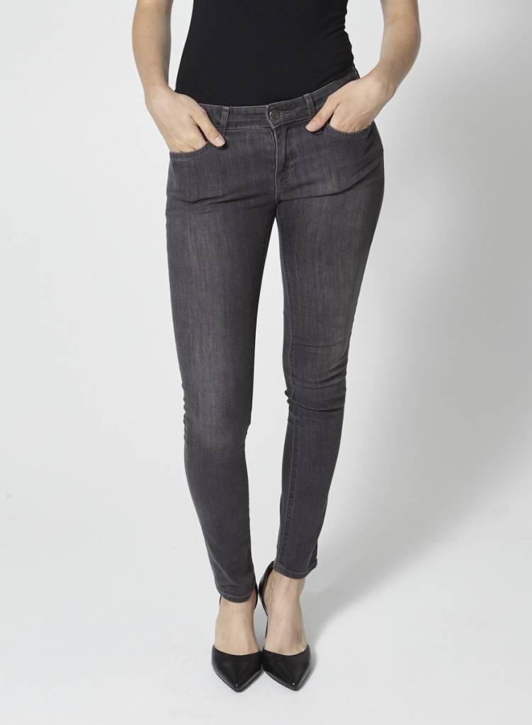 Joie Jeans skinny gris effet délavé