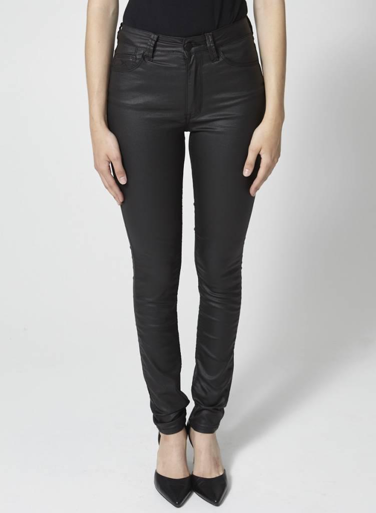 RES Denim Jeans skinny noir lustré - Neuf - Dispo en 25 et 26