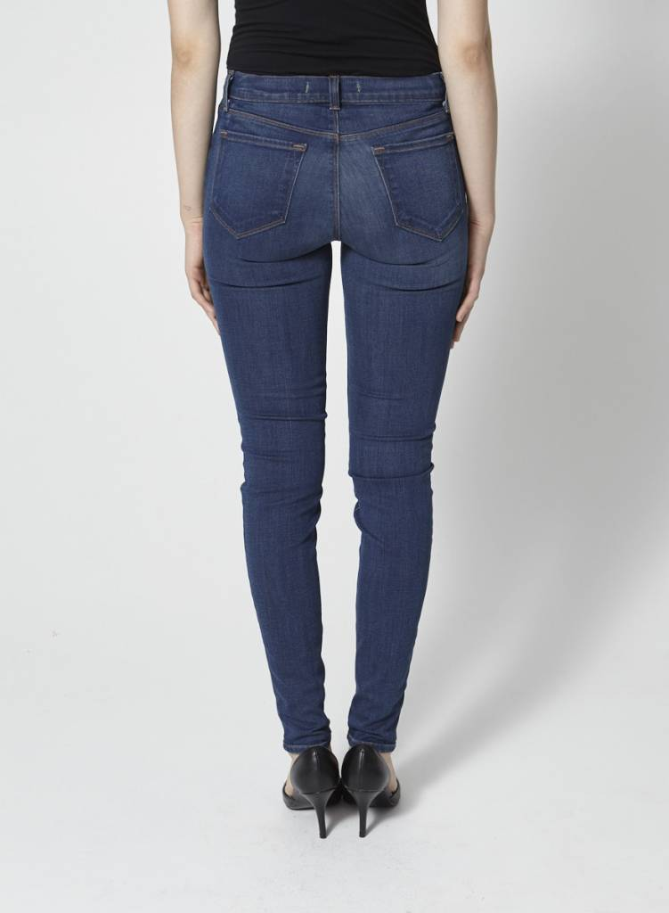 J Brand Jeans skinny effet délavé