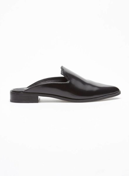 Shellys London MULES NOIRES EN CUIR