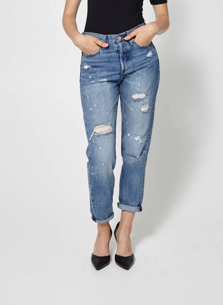 Levi's Jeans bleu effet déchiré