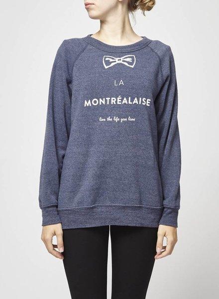 La Montréalaise Atelier PULL MARINE LA MONTRÉALAISE