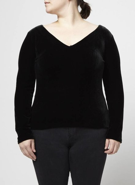 Banana Republic PULL EN VELOURS NOIR