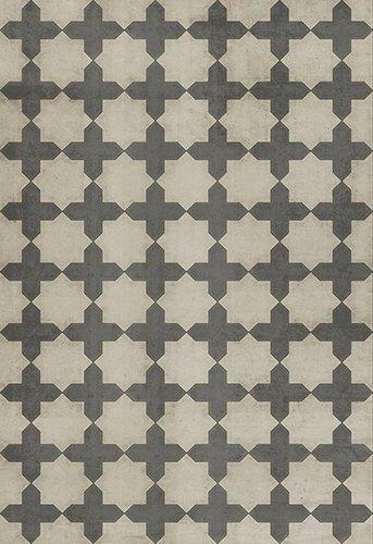 Simple As Doves Vintage Vinyl Floorcloth 70x102