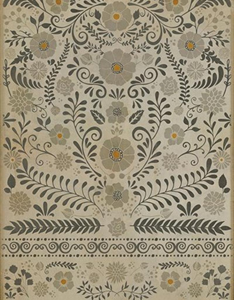 common sense vintage vinyl floorcloth - bottega 360