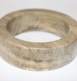 Claire Obeche Wood Bangle