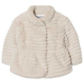 Mayoral Mayoral Faux Fur Coat