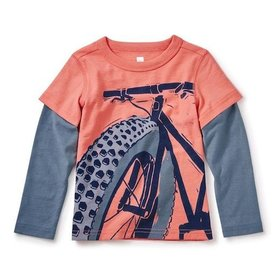 Tea Tea Fat Bike Tee