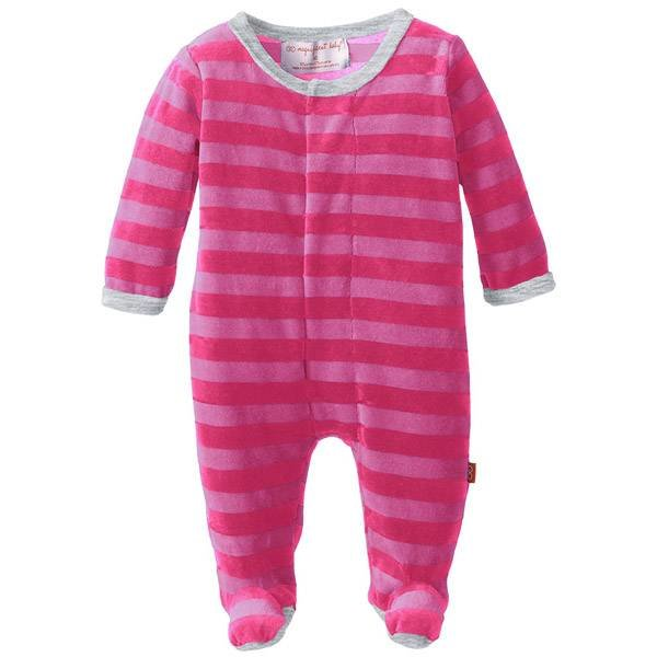 Magnificent Baby Magnetic Me Velour Footie