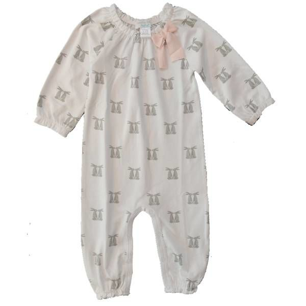 Feather Baby Feather Baby Bow Romper