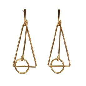 Kole Jewelry Design Metal Geo Earrings