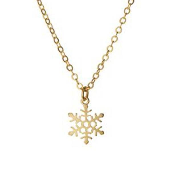 Rebecca Snowflake Necklace