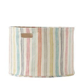 Pehr Designs Pehr Rainbow Stripe Drum Medium