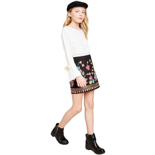 Hayden Hayden Embroidered Skirt