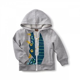 Tea Collection Tea Dragon Zip Hood