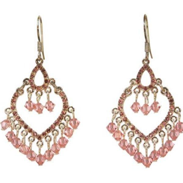 Kole Jewelry Design Crystal Heart Earing
