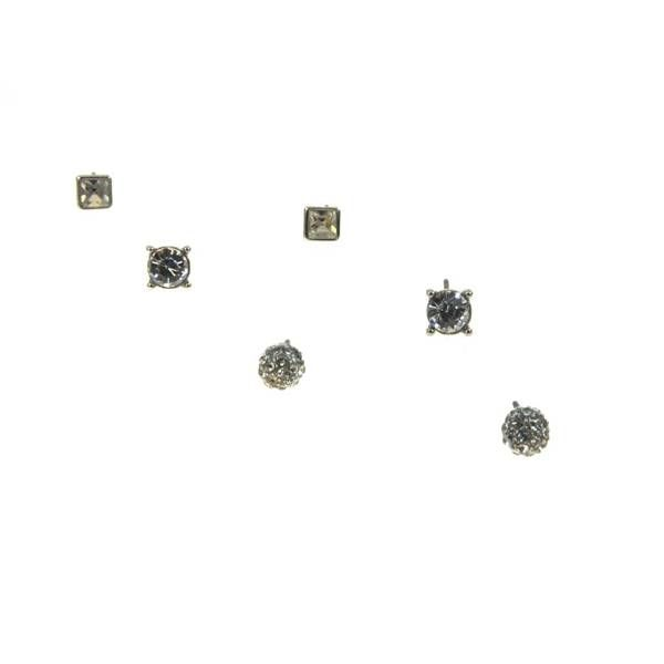 Kole Jewelry Design Triple Set Earrings