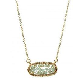 Kole Jewelry Design Bead Wire Necklace
