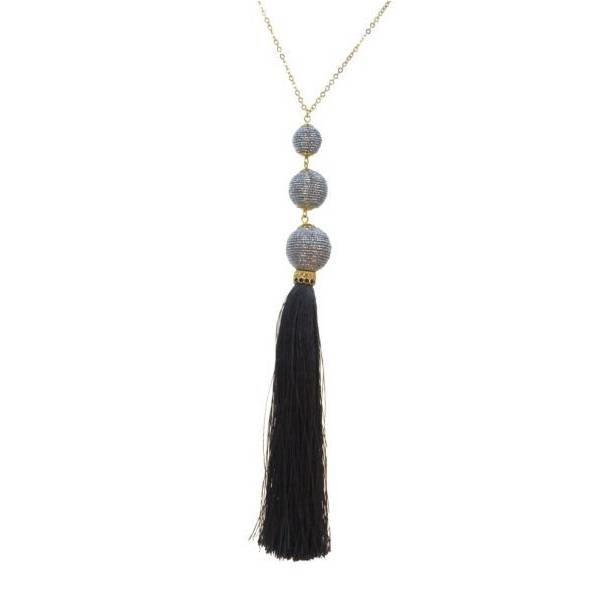 Kole Jewelry Design Triple Thread Necklace