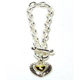 Kole Jewelry Design Chain Heart Bracelet