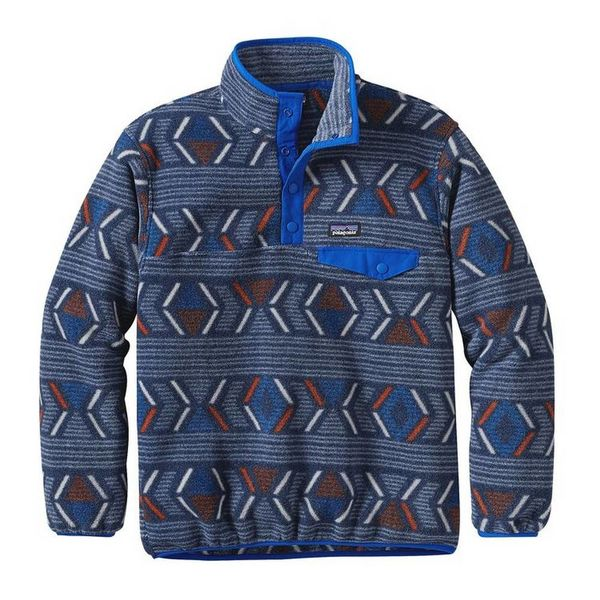 Patagonia Patagonia Boys' Lightweight Synchilla® Snap-T® Fleece Pullover