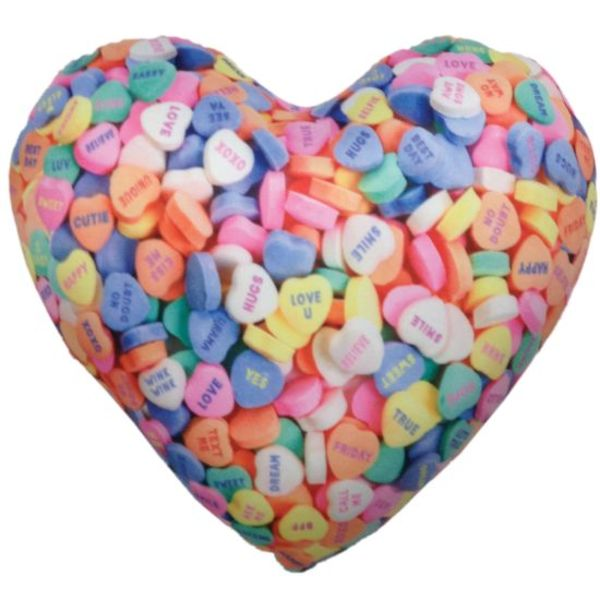 Iscream Microbead Heart Pillows