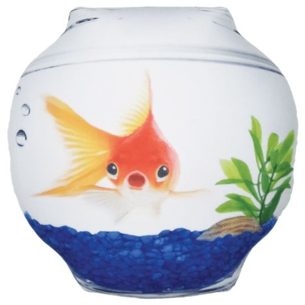 Iscream Goldfish Microbead Pillow