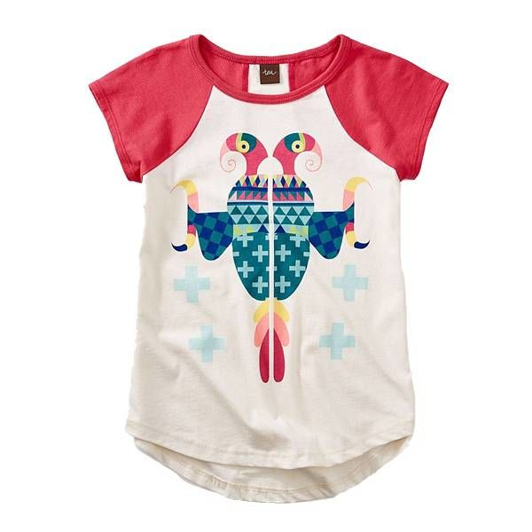 Tea Tea Collection Native American Parrot Tee