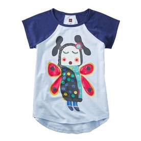 Tea Tea Singing Butterfly Girl Tee
