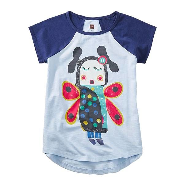 Tea Tea Collection Singing Butterfly Girl Tee