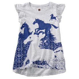 Tea Tea Wild Horses Twirl Top
