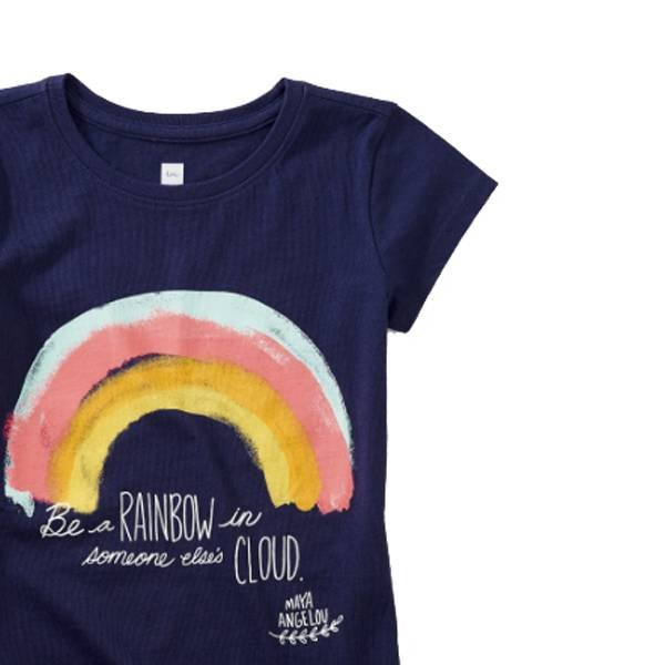 Tea Tea Collection Maya Angelou Rainbow Tee