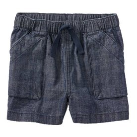Tea Collection Tea Chambray Shorts